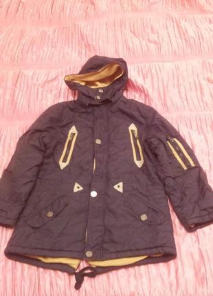 Куртка осенняя детская
