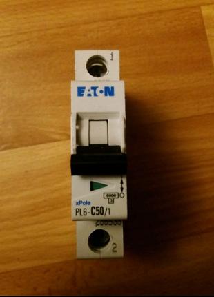 Автоматический выключатель Eaton PL6 C50/1 286538