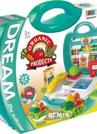 Детский супермаркет игровой набор в чемоданчике 8314