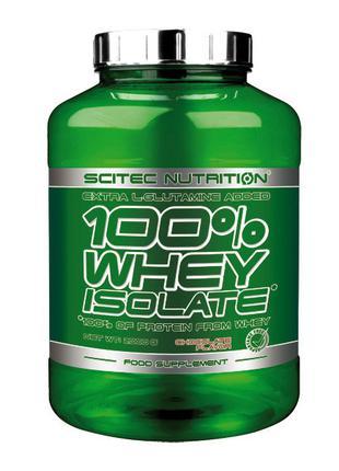 Протеин Изолят Whey Protein Isolate (2 kg) 100% Scitec Nutrition
