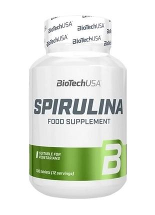Спирулина BioTech Spirulina (100 tabs)
