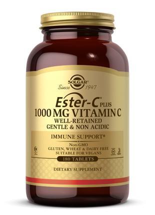 Витамин C сложноэфирный + Эстер-C Солгар / Solgar Ester-C plus...