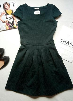 Новое темно-зеленое платье promod