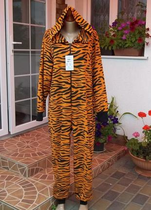 48 / 50 р фирменный флисовый комбинезон пижама кигуруми оригин...