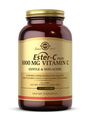 Витамин С эстер плюс сложноэфирный Solgar Ester-C plus 1000 mg...