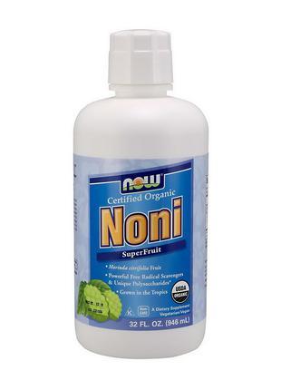 Органический сок нони Нау Фудс / Now Foods Noni Liquid super f...