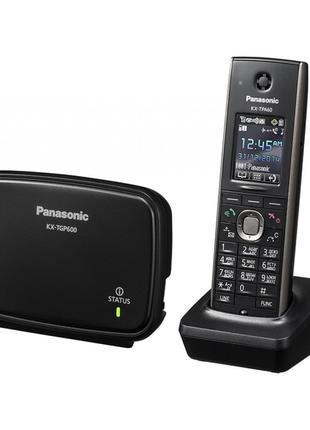 Радиотелефон + HD VoIP телефон Panasonic KX-TGP600RUB (поддерж...