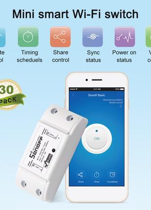 Sonoff беспроводной переключатель Wi-Fi Smart Home