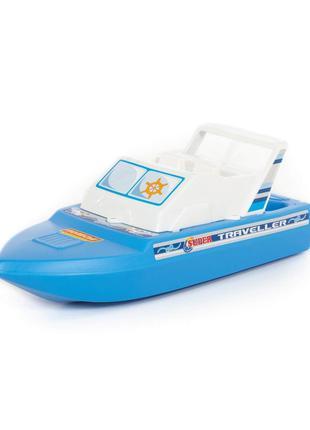 Катер игрушечный прогулочный 62260, пластик,без механизмов, от...