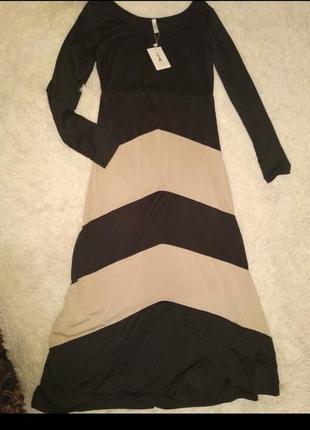 Красивое длинное платье размер   s