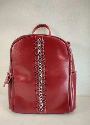 Кожаный рюкзак-сумка 2 в 1м