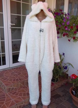50 / 52 р флисовый комбинезон пижама кигуруми