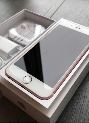 •iPhone 6s Rose gold. 16GB