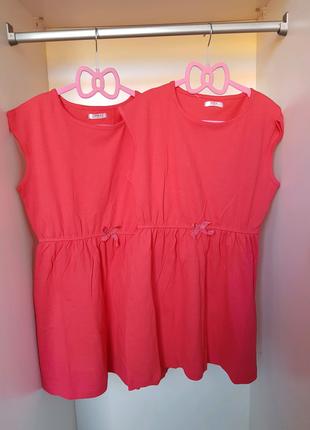 Платье красное для девочки.