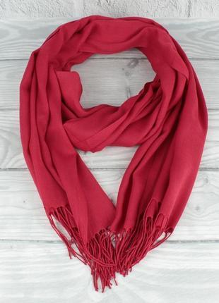 Демисезонный тонкий кашемировый шарф, палантин ozsoy 7180-17 я...