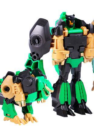 Дракон-кинг-конг-трансформер Ares JY675-F, Green, Box