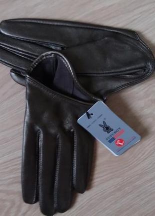 Класні стильні кожані рукавиці