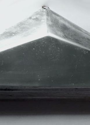 Дюралюминиевые колпаки на забор или другие конструкции .