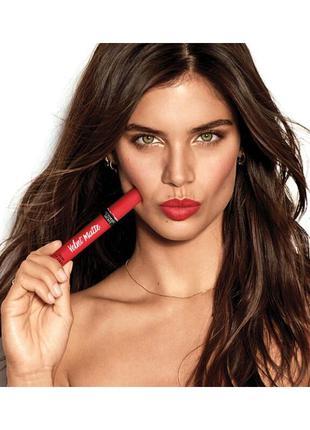 Victoria's secret velvet matte cream lip stain матовая супер с...