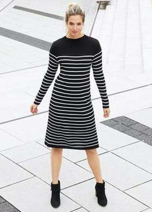 Вязанное платье tcm tchibo германия размер наш 46-48