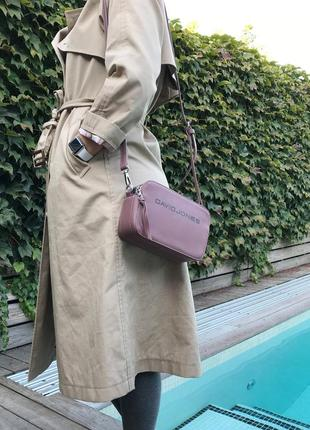 Клатч david jones 6169-1 d. pink оригинал сумка пудра