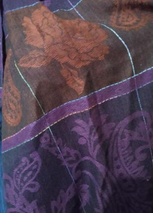 Красивый легкий шарф шаль палантин .