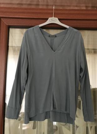 Блуза эксклюзив дизайнерская шёлковая дорогой бренд drycorn  р...