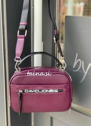 Клатч david jones cm5462 purple оригинал фиолетовая сумка слив...