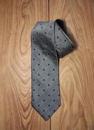 Стильный брендовый шелковый галстук. швейцария.