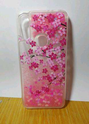 Чехол на Xiaomi redmi 7 с блестками