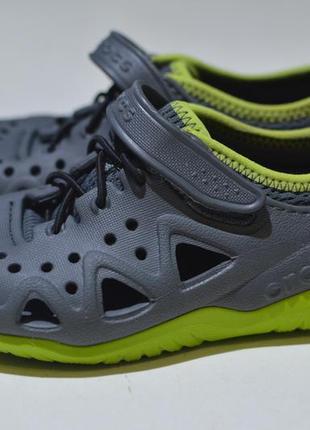 Кроксы, сабо, кроссовки crocs kids swiftwater™ play shoe 204989
