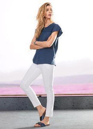 Нежная и модная футболка с кружевами от tcm tchibo, германия,