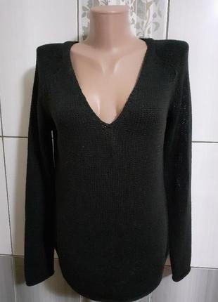 Кофта черная, пуловер/h&m