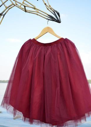 Юька пачка, пышная юбка, юбка из фатина