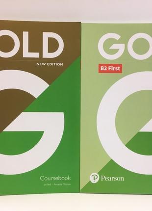 Gold First 2018 New Edition (Комплект состоит из 2 учебников)