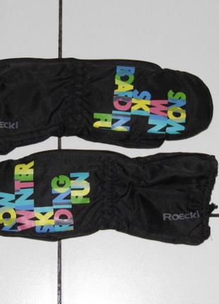 Детские варежки рукавички краги- roeckl sports 4 раз. 104/110-...