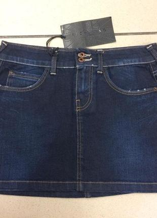Джиновая юбка итальянского дизайнера richmond denim (42)