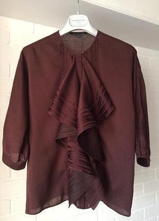Блуза aquascutum размер 10uk наш 44 марсала класс luxury