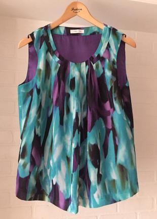 Яркая блуза winsmoor размер uk 12 наш 44-46