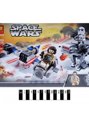 Конструктор 10910  спидер против шагохода Звездные воины анало...
