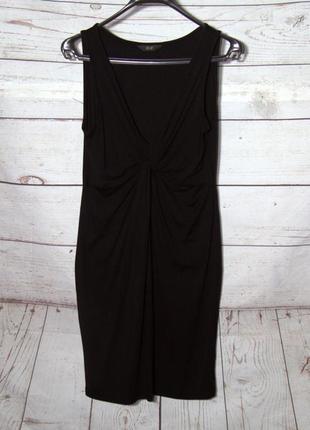 Роскошное черное  платье из вискозы