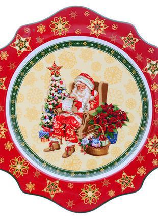"""Тарелка """"Christmas collection"""" 26 см, Lefard, 986-076"""