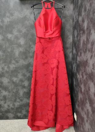 Платье ( кроп-топ)