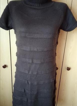 Платье  гольф с коротким рукавом плюс рукава отдельно