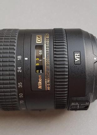 Объектив Nikon AF-S DX Nikkor 18-200mm f/3.5-5.6G ED VR II
