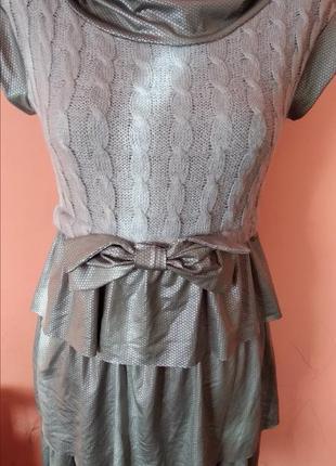 Новое платье теплое на девочку подростка