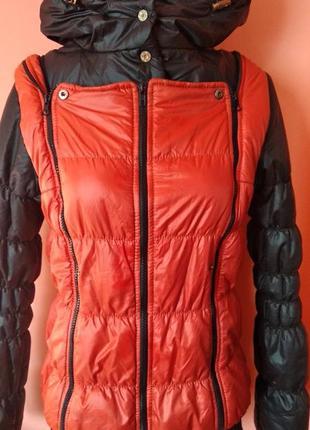 Куртка трансформер жилетка, 48 размер