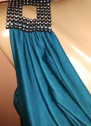Красивое платье короткое туника 44 размер