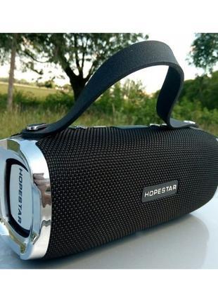 Колонка Bluetooth Hopestar H24 портативная акустика Стерео