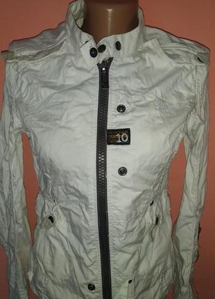 Куртка женская ветровка пиджак s размер